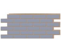 Цокольный сайдинг Т-сайдинг коллекция Керамический кирпич - Серый