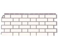 Цокольный сайдинг Fineber коллекция Кирпич облицовочный - Белый