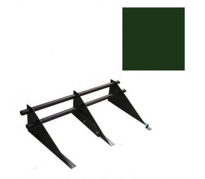 Снегозадержатель комплект цвет Зеленый мох 6005