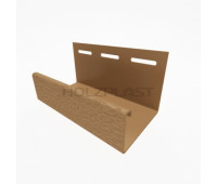 J-профиль для винилового бревна Holzblock (Хольцблок), Каштан (3,00м)
