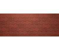 Гибкая черепица Tegola (Тегола) Коллекция Антик Красный с отливом