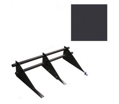 Снегозадержатель комплект цвет Коричневый RR 32