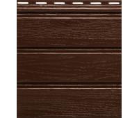 Софит коричневый  гладкий  Grand Line