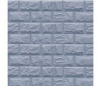 Цокольный сайдинг Доломит коллекция Альпийский прокрашенные швы - Серо-голубой