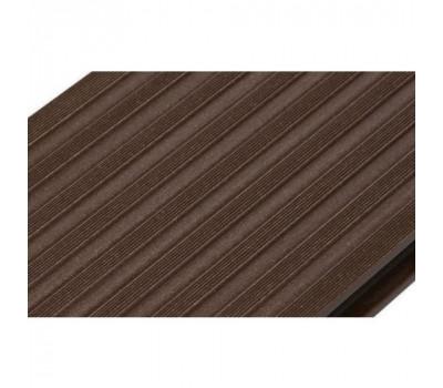 Террасная доска Savewood - Quercus Темно-коричневая 6м
