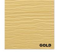 Виниловый сайдинг Mitten (Миттен), Gold (Золото)