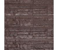 Цокольный сайдинг Доломит коллекция Скалистый риф люкс - Арабика
