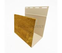 Наличник для винилового бревна Holzblock (Хольцблок), Золотой дуб (3,00м)