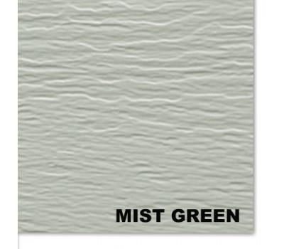 Виниловый сайдинг Mitten (Миттен), MistGreen (Зеленый Туман)