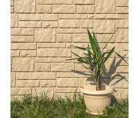 Виниловый сайдинг Tecos (Текос) - Натуральный камень Бежевый