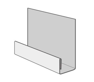 Стартовая планка металлическая (длина 2м) для цокольного сайдинга Fineber