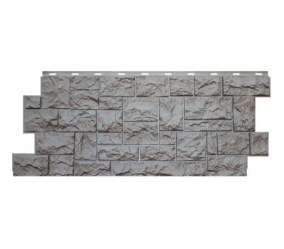Цокольный сайдинг NORDSIDE «Камень северный» Серый