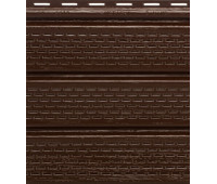 Софит коричневый  полностью перфорированный  VINYLON