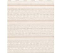 Софит белый полностью перфорированный  Fineber