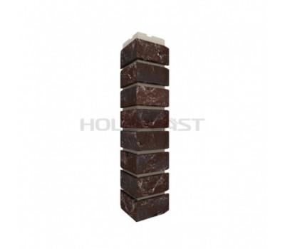 Внешний Угол Holzplast Wandstein для коллекции Кирпич Темно-коричневый