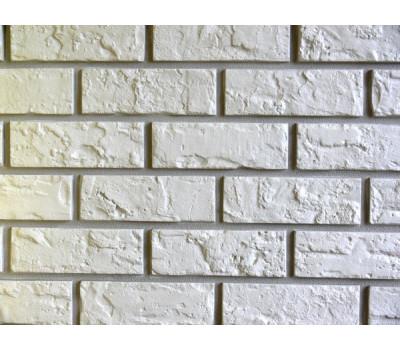 Цокольный сайдинг Nailite Hand-Laid Brick (Кирпич) COLONIAL WHITE