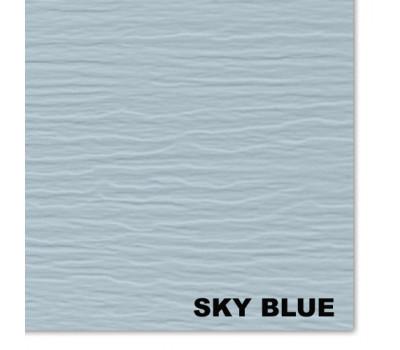 Виниловый сайдинг Mitten (Миттен), SkyBlue (Небесно голубой)