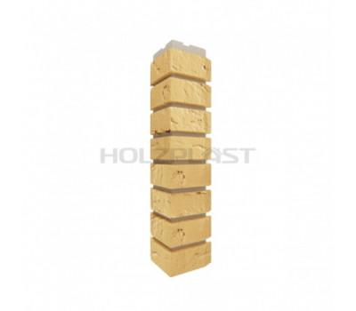 Внешний Угол Holzplast Wandstein для коллекции Кирпич Песочный