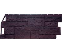 Цокольный сайдинг Fineber коллекция Камень Природный - Коричневый