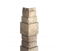 Угол наружный для цокольного сайдинга Альта Профиль КОЛЛЕКЦИЯ «СКАЛИСТЫЙ КАМЕНЬ» Альпы
