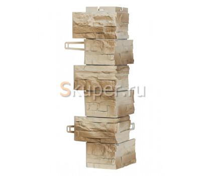 Угол для цокольного сайдинга Royal Stone Скалистый камень - Оттава