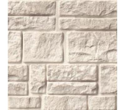 Цокольный сайдинг Foundry камень известняк Белый хлопок 850
