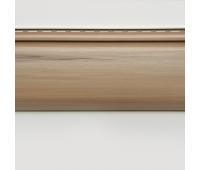 Сайдинг Tecos (Текос) - Оцилиндрованный брус (под бревно) акриловый, Канадский дуб