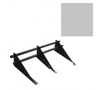 Снегозадержатель комплект цвет Серый RR 23