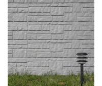 Виниловый сайдинг Tecos (Текос) - Натуральный камень Серый