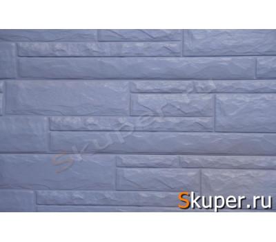 Sidelux (Сайделюкс) Серый Виниловый сайдинг стеновой под камень