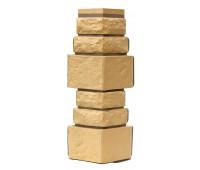 Угол для цокольного сайдинга Т-сайдинг Дикий камень - Камень Пустынный