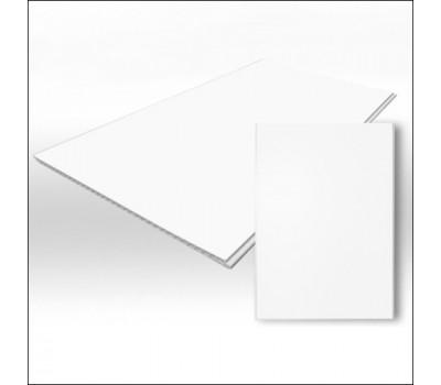 Белая ПВХ панель Матовая