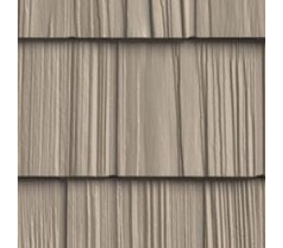 Цокольный сайдинг Foundry щепа ровный край Охра 828