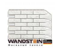 Цокольный сайдинг Holzplast Wandstein Кирпич Белый NEW