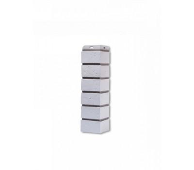 Угол наружный для Цокольного сайдинга Docke коллекция Berg Серый