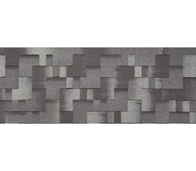 Гибкая черепица Tegola (Тегола) Коллекция Альпин Черный с отливом