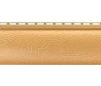 Виниловый сайдинг Альта Профиль Blockhouse (Блокхаус - под бревно), однопереломный, Золотистый