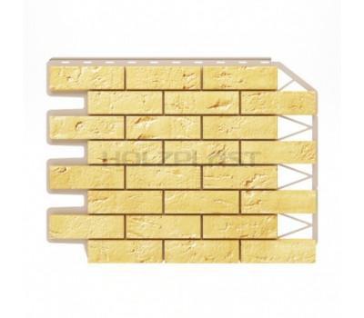 Цокольный сайдинг Holzplast Wandstein Кирпич Sandgelb / Песочный