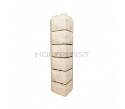Внешний Угол Holzplast Wandstein для коллекции Скол Светло -бежевый