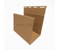 Наличник для винилового бревна Holzblock (Хольцблок), Каштан (3,00м)
