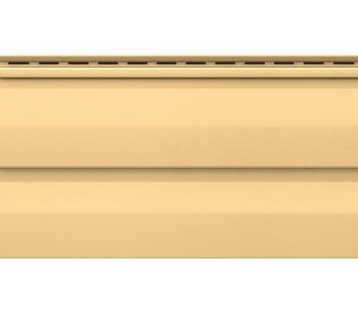 Виниловый сайдинг Vox (Вокс) - Корабельный брус, Желтый