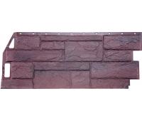 Цокольный сайдинг Fineber коллекция Камень Природный - Серо-коричневый