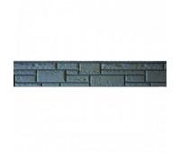 Цокольный сайдинг Доломит коллекция Прокрашенные швы - Серый