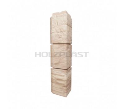 Внешний Угол Holzplast Wandstein для коллекции Туф Бежевый