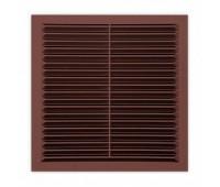 вентиляционная решётка, для сайдинга, коричневая