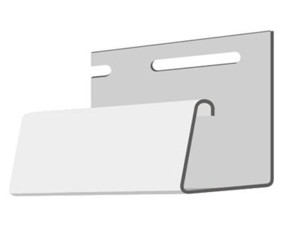 Джи планка цокольная (длина 3м) для цокольного сайдинга Fineber